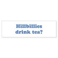Hillbilly Tea Bumper Bumper Sticker