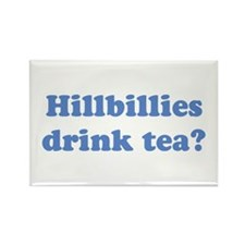 Hillbilly Tea Rectangle Magnet