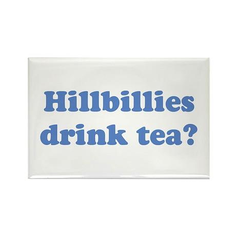 Hillbilly Tea Rectangle Magnet