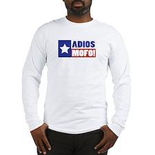 Adios Mofo (Secede) Long Sleeve T-Shirt