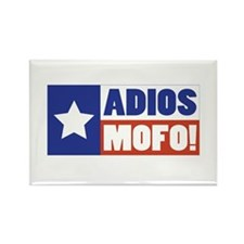 Adios Mofo (Secede) Rectangle Magnet