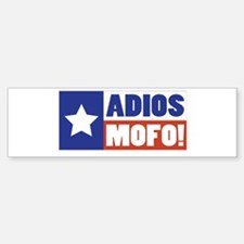 Adios Mofo (Secede) Bumper Bumper Bumper Sticker