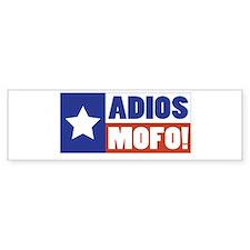 Adios Mofo (Secede) Bumper Bumper Sticker
