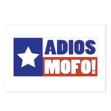 Adios Mofo (Secede) Postcards (Package of 8)