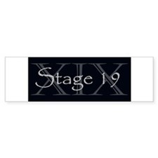 Stage19 Logo Bumper Bumper Sticker