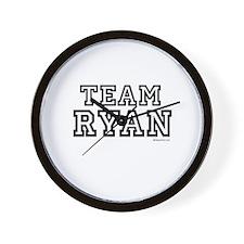 Team Ryan ~  Wall Clock