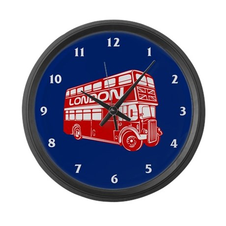 London Transit Large Wall Clock