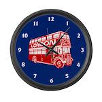 London Transit Large Wall Clock