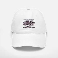American Terrorist Veteran of Baseball Baseball Cap