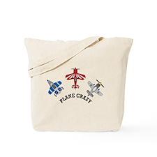 Aviation Plane Crazy Tote Bag