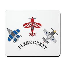 Aviation Plane Crazy Mousepad