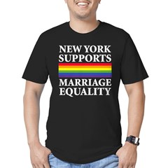 New York Supports Marriage Equality Tshirt