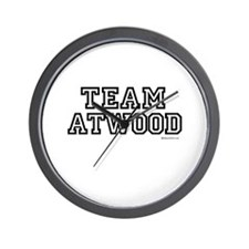Team Atwood ~  Wall Clock