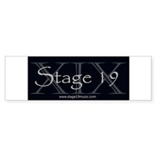 Stage19 Logo Bumper Bumper Sticker