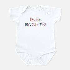 I'm the Big SISTER! Infant Bodysuit
