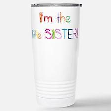 I'm the Little Sister! Stainless Steel Travel Mug