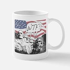 WTF Mount Rushmore Mug