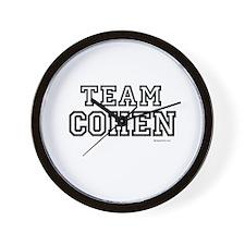 Team Cohen ~  Wall Clock