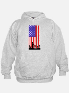 Veteran Flag T Shirt Sweatshirt