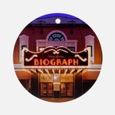 The Biograph Theater Ornament (Round)
