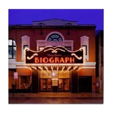 The Biograph Theater Tile Coaster