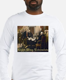 Right-Wing Extremists Long Sleeve T-Shirt
