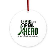 REAL HERO 2 Grandson LiC Ornament (Round)