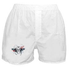 Skull Design Boxer Shorts
