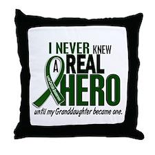 REAL HERO 2 Granddaughter LiC Throw Pillow