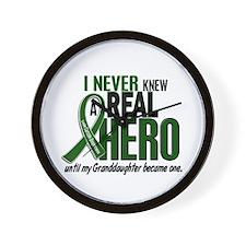 REAL HERO 2 Granddaughter LiC Wall Clock
