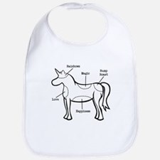 Unicorn Parts Bib