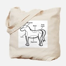 Unicorn Parts Tote Bag