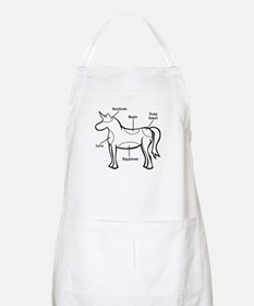 Unicorn Parts BBQ Apron