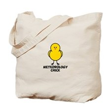 Meteorology Chick Tote Bag