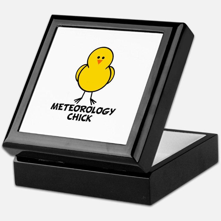 Meteorology Chick Keepsake Box