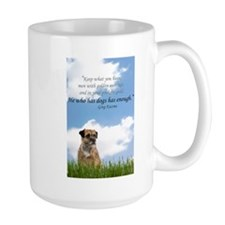 He who has dogs has enough Mug