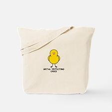 Metal Detecting Chick Tote Bag