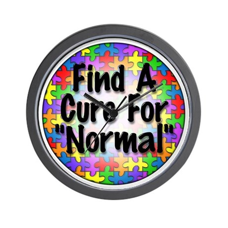 Cure Normal Wall Clock