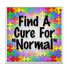 Cure Normal Tile Coaster