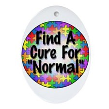 Cure Normal Oval Ornament