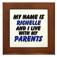 my name is richelle and I live with my parents Fra