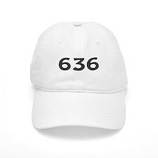 636 Area Code Baseball Baseball Cap