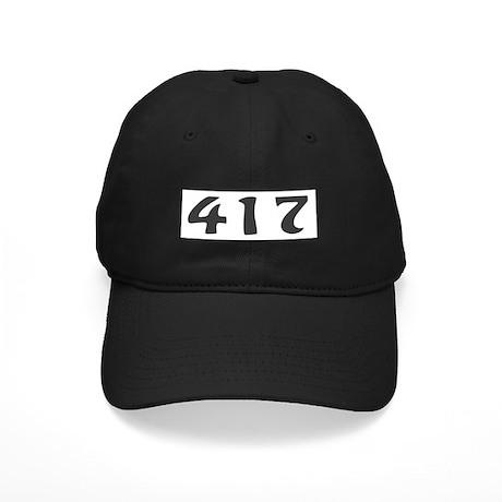 417 Area Code Black Cap