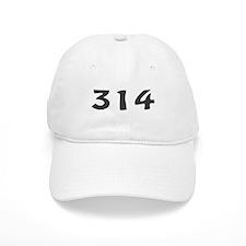 314 Area Code Baseball Cap