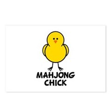 Mahjong Chick Postcards (Package of 8)