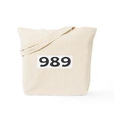 989 Area Code Tote Bag