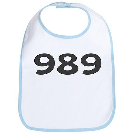 989 Area Code Bib