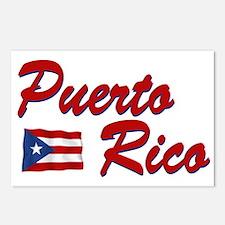 Puerto rican pride Postcards (Package of 8)