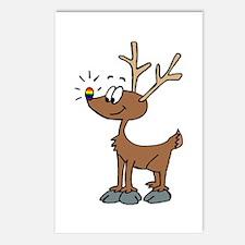Rainbow Pride Deer Postcards (Package of 8)