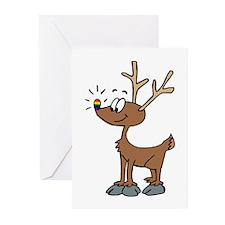 Rainbow Pride Deer Greeting Cards (Pk of 10)